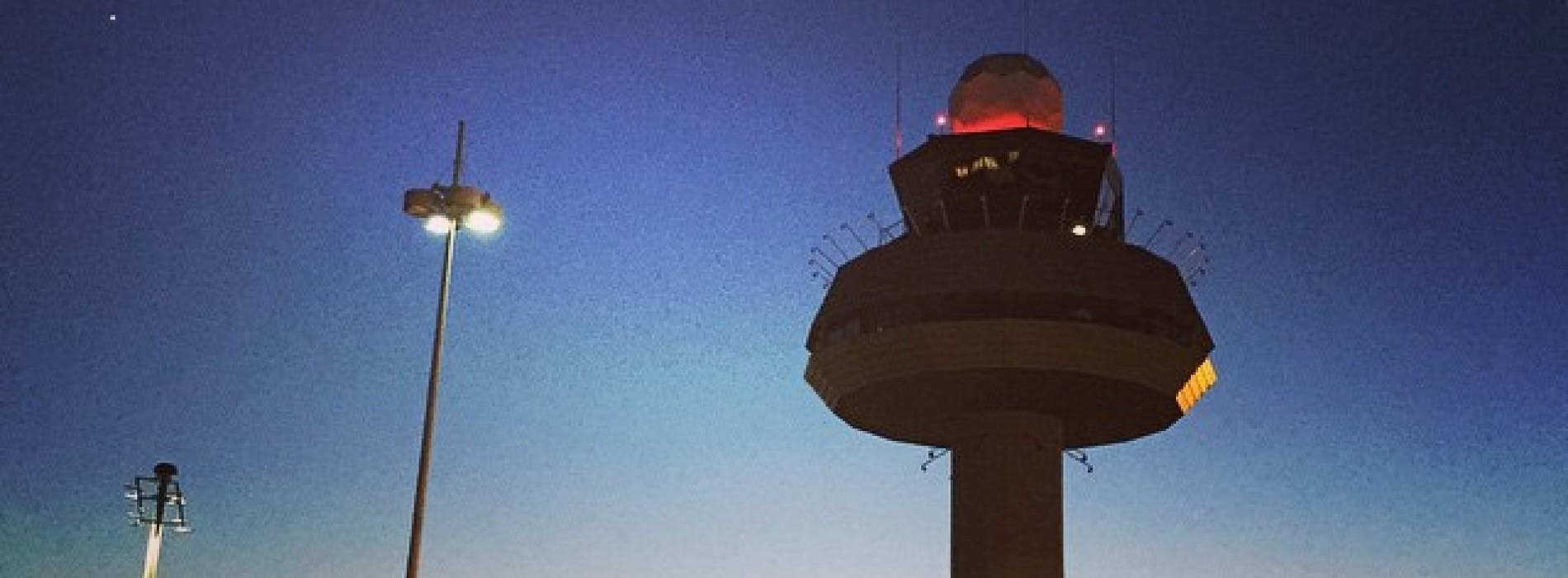 romantischer kann ein Flughafen Terminal nicht sein