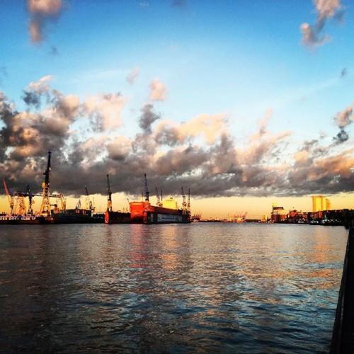 Hamburg amMorgen laufstrecken