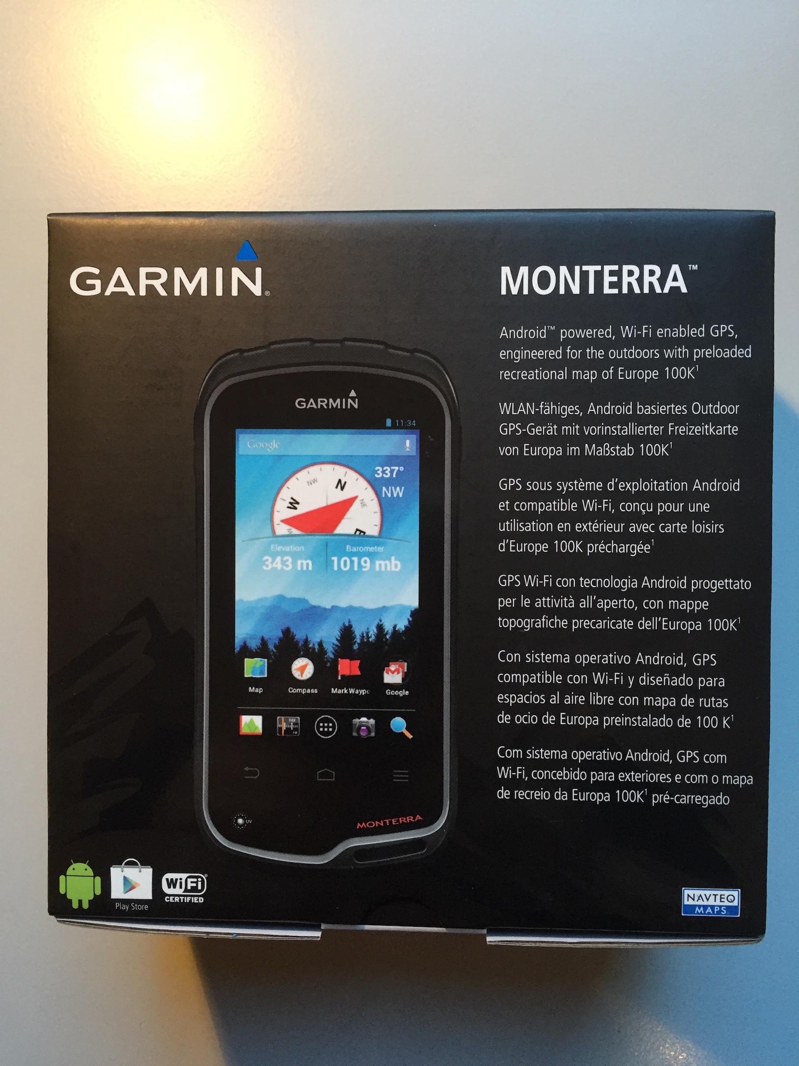 Garmin Monterra Box