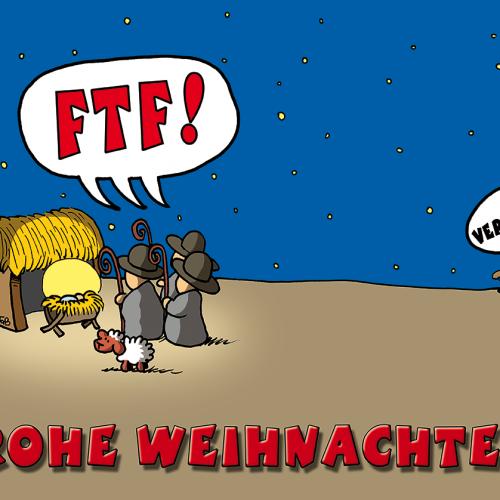 Frohe Geocacher Weihnachten!
