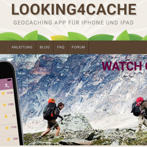 Looking4Cache Pro – dieses Wochenende 50% reduziert auf 3,99€